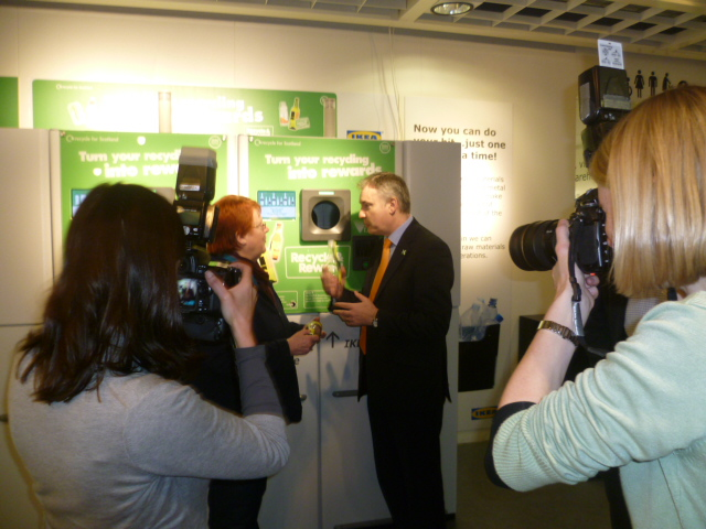 Cabinet Secretary for Rural Affairs and Environment Richard Lochhead